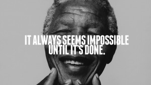 ... / Nelson Mandela: Quotes and photos of a South African president