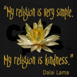 my_religion_is_kindness_dalai_lama_quote_racerback.jpg?color=Black ...