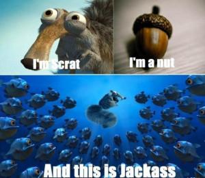 Ice Age Jackass
