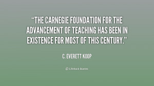 The Carnegie Foundation for the Advancement of Teaching has been in ...