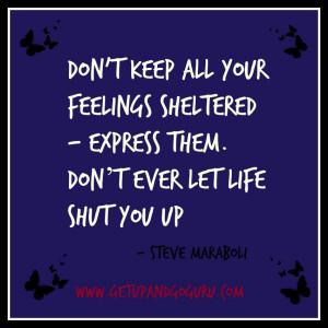 Emotions Quote - Steve Maraboli