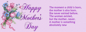 Mother's day christian facebook covers quotes