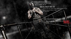 quotes shadows typography darkness bane tom hardy batman the dark ...