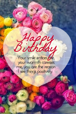 Happy Birthday Love Quotes and Wishes for Her & Him