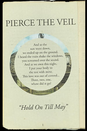 Hold On till May Quotes