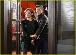 About This Photo Set: Jane Levy and Parker Young share an awkward ...