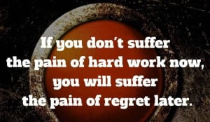Success Motivational Quote About Hard Work - Work Hard in Silence.