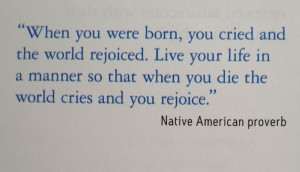 old cherokee quotes - Google Search