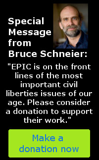 Defend Privacy. Support EPIC.