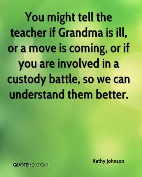 Quotes About Custody Battles