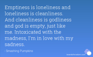 Emptiness Quotes Wallpapers