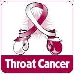 Throat Cancer Fight Like a Girl Shirts, Apparel and Gifts