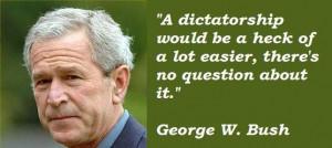 George w bush famous quotes 4