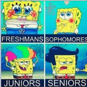 funny, high school, spongebob, true