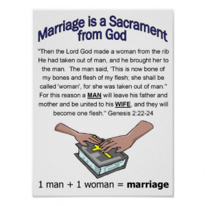 Marriage Sacrament poster