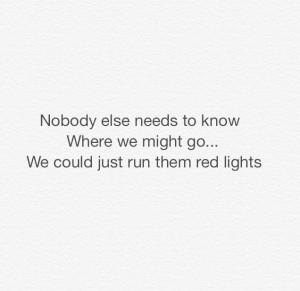 redlights #Tiesto #lyrics #quote