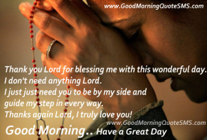 Good Morning Prayer Quotes – Morning Prayers to God Quotes, Thoughts