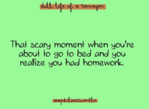 and you still go to bed anyways