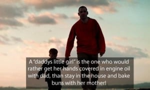 Fathers day quotes a daddys little girl