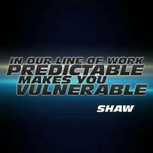 Great quote, Shaw!
