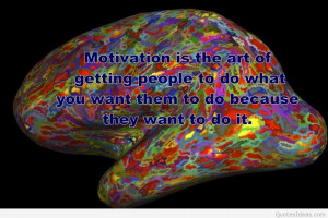 motivational quote science image