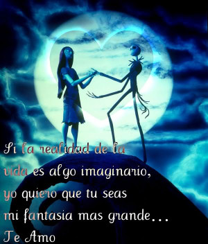 Jack Skellington And Sally Quotes Jack and sally image