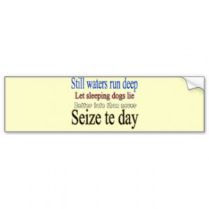 Famous Quotes Sayings Bumper Stickers