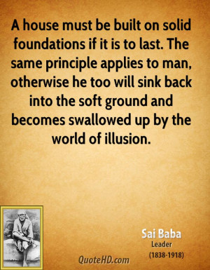 Solid Foundation Quotes