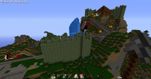 The Minecraft server....Factions/ countrys...no griefing