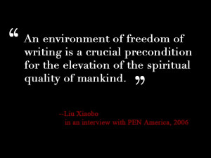 Liu Xiaobo Non Violence Is the Greatest Quote