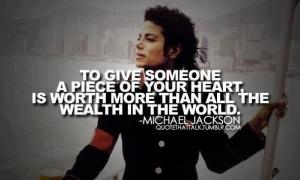& Music, Inspiration, Michael Jackson Quotes, Heart Worth, Michael ...