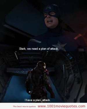 Avengers Quotes Iron Man Quotesgram
