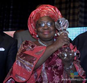 Ngozi Okonjo Iweala Wears Outfit from Onyeka Onwenu