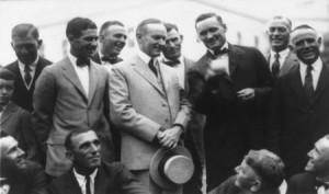 Walter Johnson Calvin Coolidge
