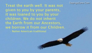 native american quotes on nature