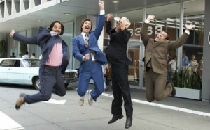 News Team Assemble! Ron Burgundy Announces Sequel to Anchorman on ...
