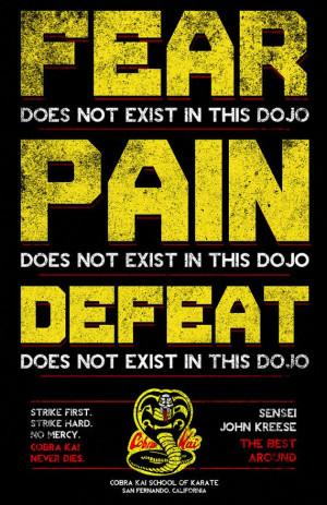 Cobra Kai Karate School Poster 11 x 17 inches by MattPepplerArt, $20 ...