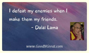 """... to make a difference, try sleeping with a mosquito."""" – Dalai Lama"""