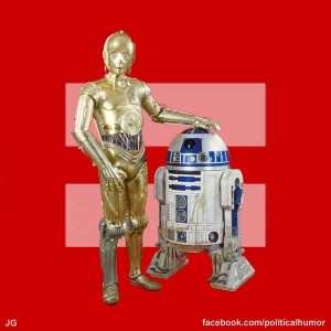 C2PO and R2D2 come out for gay marriage