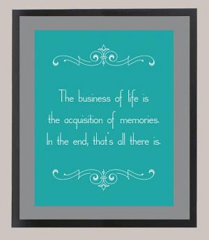 Downton Abbey Mr. Carson Quote 'The Business by CadburysKeepsakes, $22