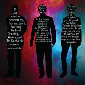 Doctor Who Quotes by XxKandiVanityxX