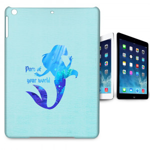Disney-Princess-Ariel-Little-Mermaid-Quote-Tablet-Hard-Shell-Case-for ...