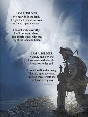 AM an American Soldier Poem