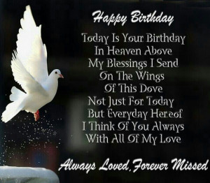Happy Birthday Grandma Heaven