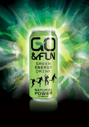 Go&Fun Green Energy Drink