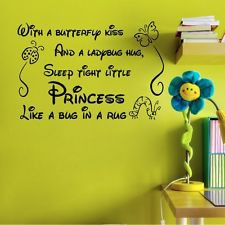 quotes butterfly wall decor for kids quotes decor quotes for kids ...