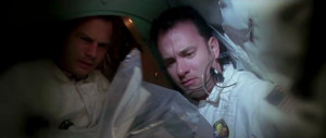 Tom Hanks (Jim Lovell) and Bill Paxton (Fred Haise) in Apollo 13 (1995 ...