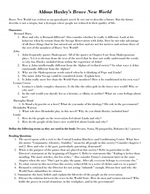 english teachers essay brave new world Brave new world essay topics with strong themes throughout the text, ''brave new world'' can be segmented into essay topics perfectly this lesson offers multiple themed essay topics to allow your students to examine specific concepts from the novel deeply.