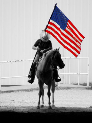 """Old Traditions of The United States( American """"Cowboy"""""""
