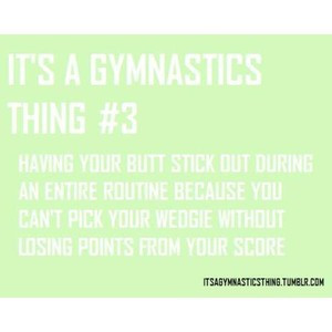 It's A Gymnastics Thing!! Part 1
